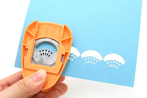 Kuretake KurePunch Corner Paper Punch - Chiffon - KURETAKE SBKPC950-4