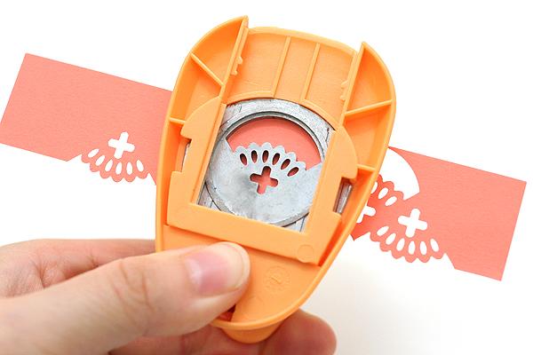 Kuretake KurePunch Corner Paper Punch - Appliqued Lace - KURETAKE SBKPC950-6