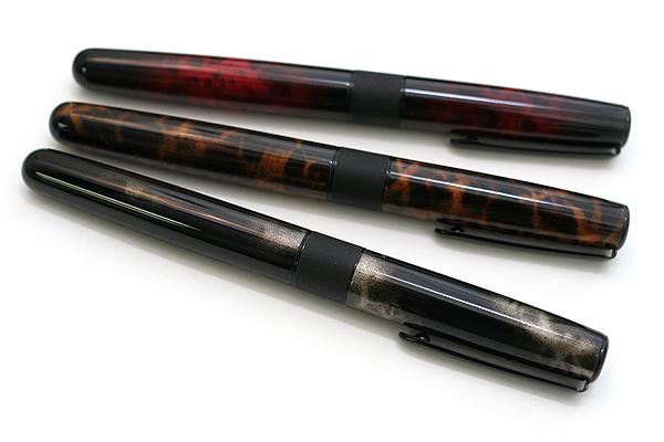 Tombow Havanna Liquid Ink Rollerball Pen - 0.7 mm - Smoke Gray - TOMBOW BW-LIS
