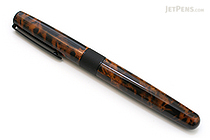 Tombow Havanna Liquid Ink Rollerball Pen - 0.7 mm - Tortoiseshell - TOMBOW BW-LIT