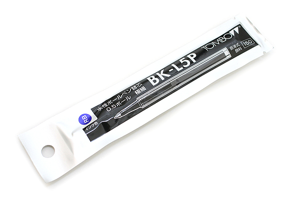 Tombow BK-L5P Rollerball Pen Refill - 0.5 mm - Blue - TOMBOW BK-L5P16