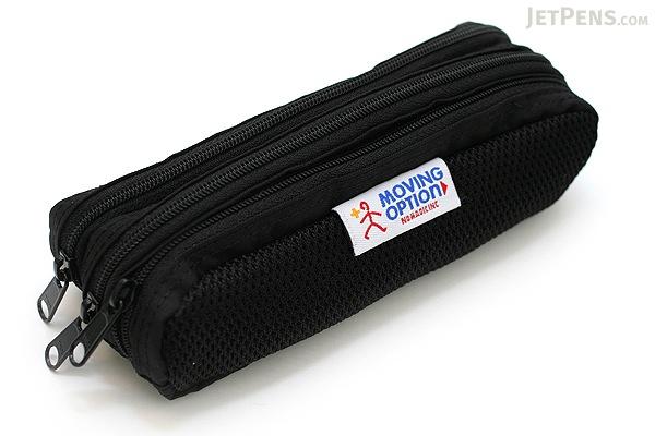 Nomadic PD-02 Triple Pouch Pencil Case - Black - NOMADIC EPD-02 BLACK