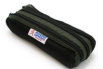 Nomadic PD-02 Triple Pouch Pencil Case - Khaki Green - NOMADIC EPD-02 KHAKI