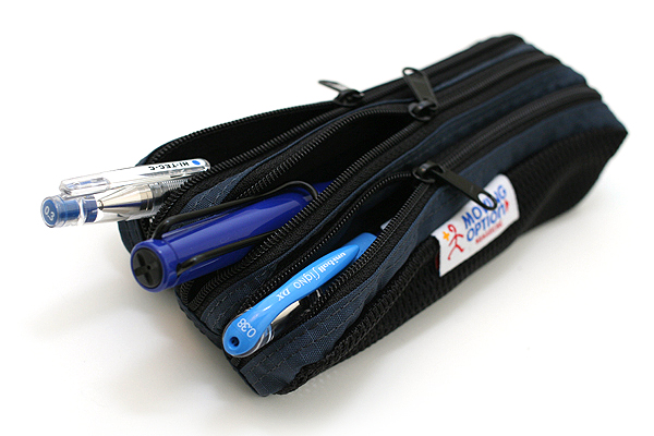 Nomadic PD-02 Triple Pouch Pencil Case - Navy - NOMADIC EPD-02 NAVY