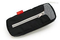 Nomadic PE-06 Side Zipper Pencil Case - Black - NOMADIC EPE 06 BLACK