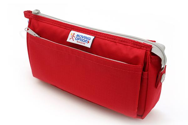 Nomadic PE-09 Flap Type Pencil Case - Red - NOMADIC EPE 09 RED