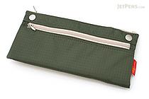 Nomadic PN-04 Snap Button Pencil Case - Khaki Green - NOMADIC EPN 04 KHAKI
