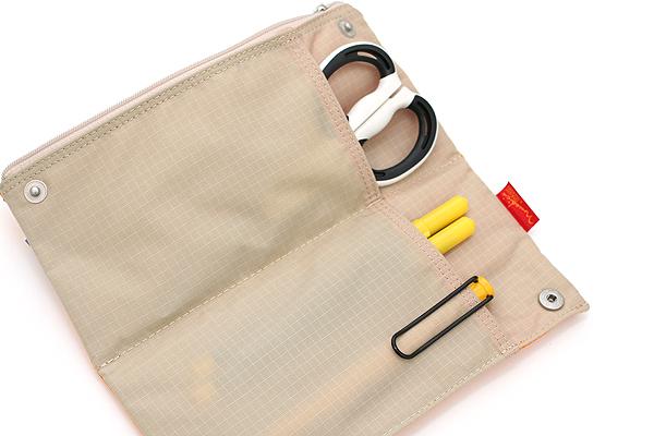 Nomadic PN-04 Snap Button Pencil Case - Yellow - NOMADIC EPN 04 YELLOW