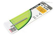 Zebra Tele-scopic Slide Ballpoint Pen Refill - 4-C - 0.7 mm - Black Ink - ZEBRA 85612