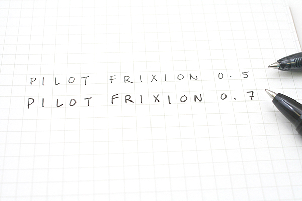 Pilot FriXion Ball Knock Retractable Gel Pen - 0.5 mm - Blue - PILOT LFBK-23EF-L