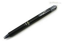 Pilot FriXion Ball Knock Retractable Gel Pen - 0.5 mm - Black - PILOT LFBK-23EF-B