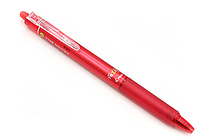 Pilot FriXion Ball Knock Retractable Gel Pen - 0.7 mm - Red - PILOT LFBK-23F-R