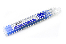 Pilot FriXion Gel Pen Refill - 0.5 mm - Blue - Pack of 3 - PILOT LFBKRF30EF3L