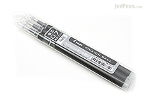 Pilot FriXion Gel Pen Refill - 0.7 mm - Black - Pack of 3 - PILOT LFBKRF30F3B