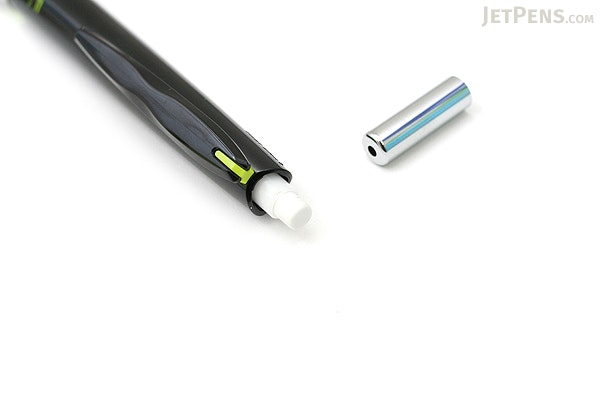 Pilot Delful Double Knock Mechanical Pencil - 0.5 mm - Black & Green - PILOT HDF-50R-BG