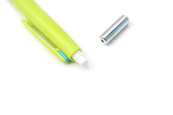 Pilot Delful Double Knock Mechanical Pencil - 0.5 mm - Green & Soft Blue - PILOT HDF-50R-GSL