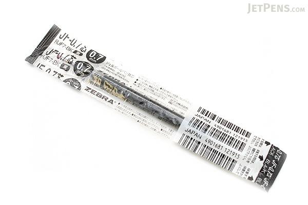 Zebra JF-0.7 Sarasa Gel Pen Refill - 0.7 mm - Black - ZEBRA RJF7-BK