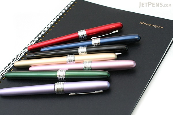 Platinum Plaisir Fountain Pen - Red - 05 Medium Nib - PLATINUM PGB-1000 70-3
