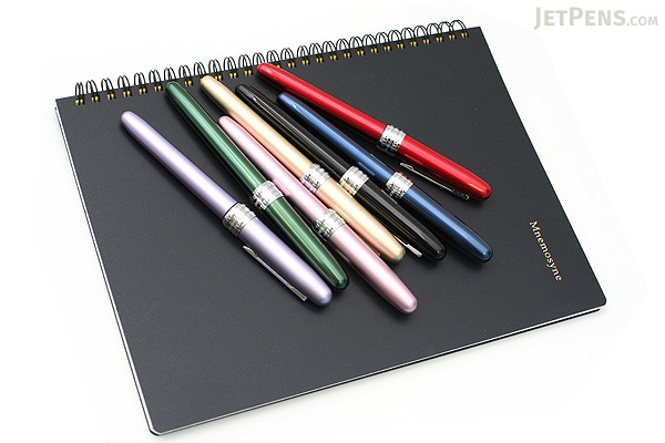 Platinum Plaisir Fountain Pen - Gold - 05 Medium Nib - PLATINUM PGB-1000 68-3