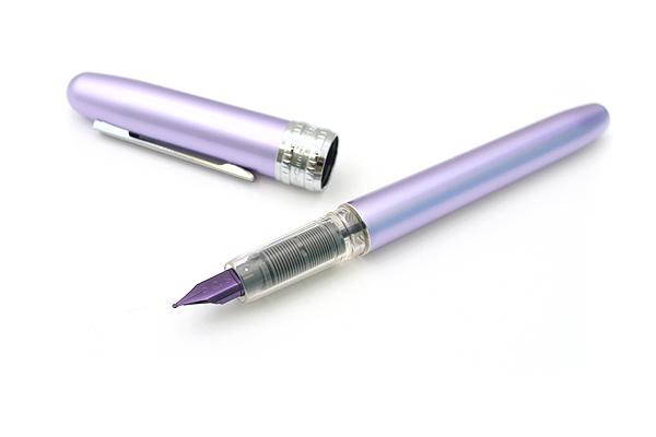Platinum Plaisir Fountain Pen - Medium 05 Nib - Violet Body - PLATINUM PGB-1000 28-3