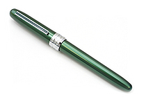 Platinum Plaisir Fountain Pen - Medium 05 Nib - Green Body - PLATINUM PGB-1000 41-3
