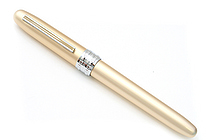 Platinum Plaisir Fountain Pen - Medium 05 Nib - Gold Body - PLATINUM PGB-1000 68-3