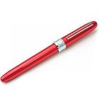 Platinum Plaisir Fountain Pen - Fine 03 Nib - Red Body