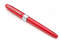 Platinum Plaisir Fountain Pen - Medium 05 Nib - Red Body - PLATINUM PGB-1000 70-3