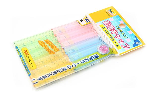 Sun-Star Sect Pencil Cap - 4 Colors - Pack of 12 - SUN-STAR S5032903