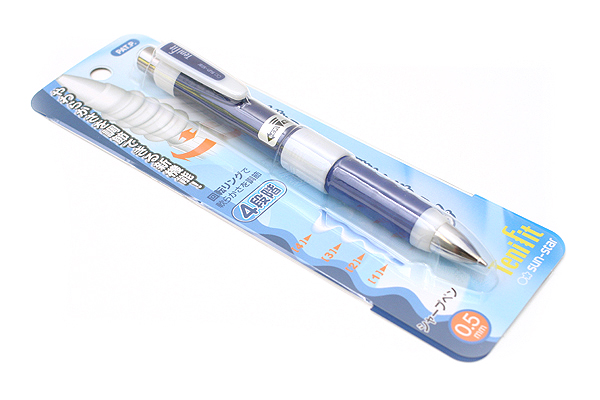 Sun-Star TeniFit Adjustable Grip Mechanical Pencil - 0.5 mm - Blue - SUN-STAR S4447689