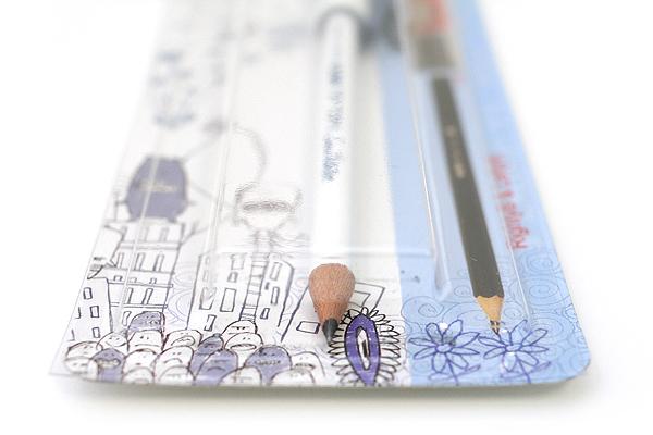 Kum Scribble Tip Top Pencil Cap + Sharpener - KUM 339.07.22