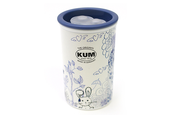 Kum Scribble 1870K M2 Magnesium Pencil Sharpener - 2 Sizes - Garden - KUM 339.03.21 A
