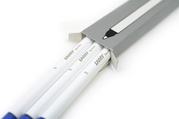 Lamy T11 Roller Ball Pen Refill Cartridge - 0.7 mm - Blue Ink - Pack of 3 - LAMY T11