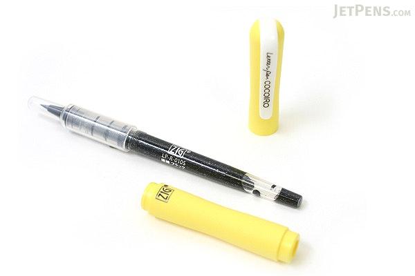 Kuretake Zig Letter Pen CocoIro Pen Body - Lemon - KURETAKE LPC-003S