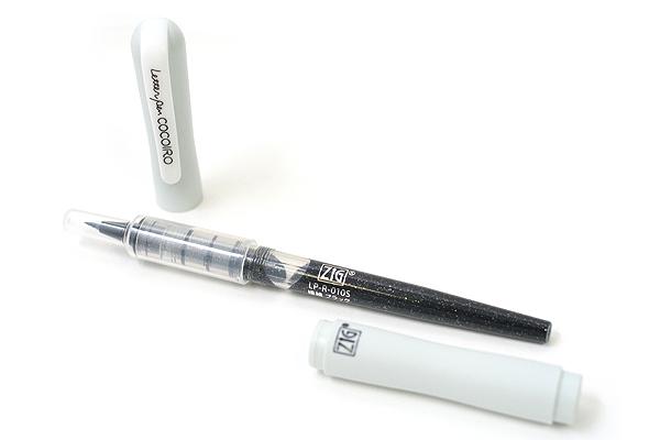 Kuretake Zig Letter Pen CocoIro Pen Body - Frosty Gray - KURETAKE LPC-09S