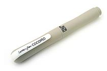 Kuretake Zig Letter Pen CocoIro Pen Body - Warm Chestnut - KURETAKE LPC-10S