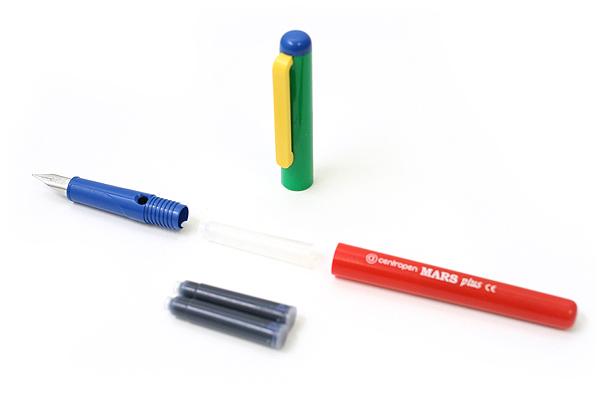 Centropen 2126 Mars Plus Children's Fountain Pen - Medium Iridium Tip - CENTROPEN 1 2126 0102