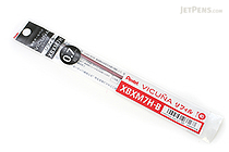 Pentel Vicuna Ballpoint Pen Refill - 0.7 mm - Red - PENTEL XBXM7H-B