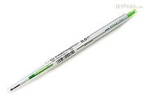 Uni Style Fit Single Color Slim Gel Pen - 0.5 mm - Lime Green - UNI UMN13905.5