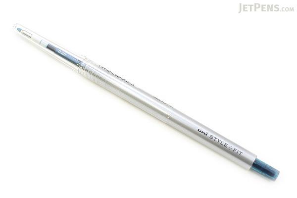 Uni Style Fit Single Color Slim Gel Pen - 0.28 mm - Blue Black - UNI UMN13928.64