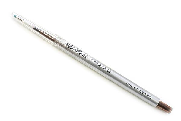 Uni Style Fit Single Color Slim Gel Pen - 0.38 mm - Brown Black - UNI UMN13938.22