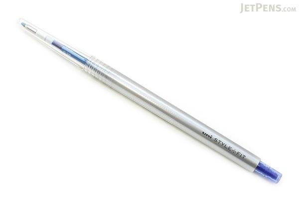 Uni Style Fit Single Color Slim Gel Pen - 0.38 mm - Blue - UNI UMN13938.33