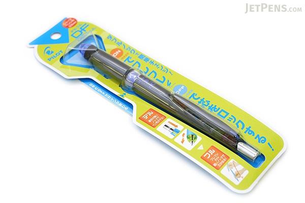 Pilot Delful Double Knock Mechanical Pencil - 0.5 mm - Black & Blue - PILOT HDF-50R-BL