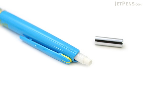 Pilot Delful Double Knock Mechanical Pencil - 0.5 mm - Soft Blue & Yellow - PILOT HDF-50R-SLY