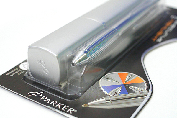 Parker Executive Ballpoint Multi Pen + 0.5 mm Pencil + Highlighter - Shiny Chrome Body - SANFORD 1740599