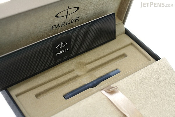 Parker Sonnet Fountain Pen - Matte Black - Gold Trim - Fine Nib - PARKER S0817930