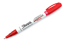 Sharpie Oil-Based Paint Marker - Extra Fine Point - Red - SHARPIE 35527