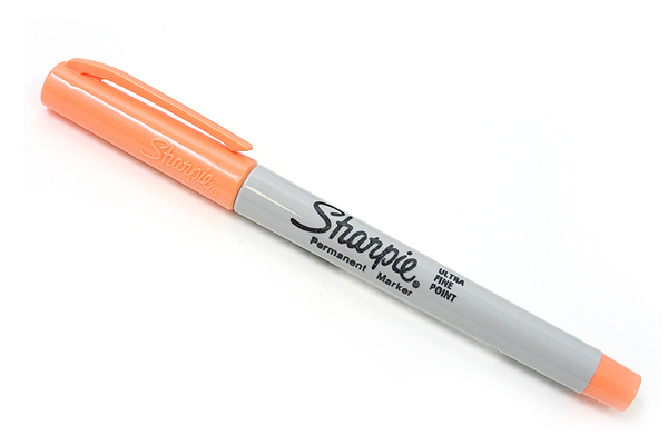Sharpie Permanent Marker - Ultra Fine Point - Peach - SHARPIE 32986