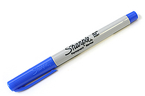 Sharpie Permanent Marker - Ultra Fine Point - Blue - SHARPIE 37113