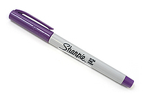 Sharpie Permanent Marker - Ultra Fine Point - Purple - SANFORD 37118